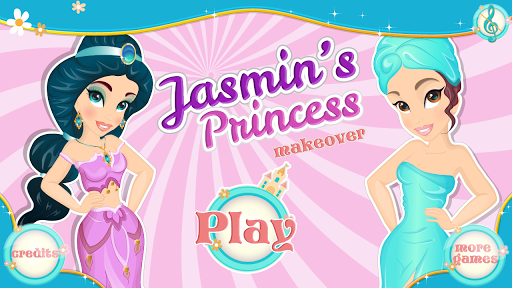 Jasmine's Princess Makeover