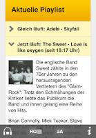 Screenshot of SWR1 Baden-Württemberg Radio