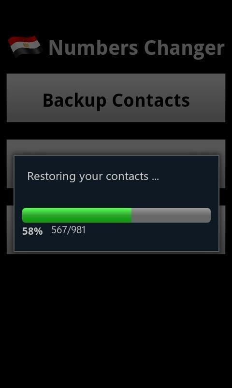 Egypt Numbers Changer- screenshot