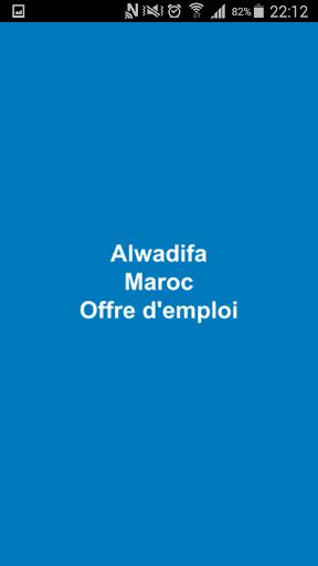 Offre d'emploi maroc