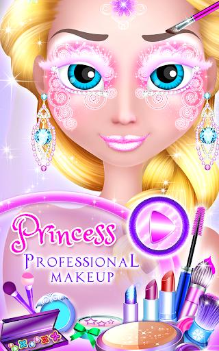 Princess Professional Makeup