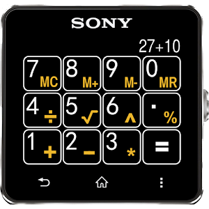 Calculator for SmartWatch Icon