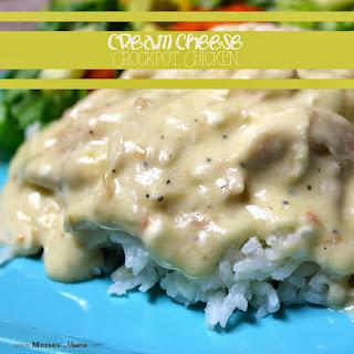 Italian Cream Cheese Crockpot Chicken and Rice