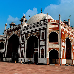humayun tomb by Madly Baangali - Buildings & Architecture Statues & Monuments