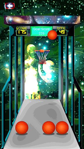 バスケットボールシューティングゲーム