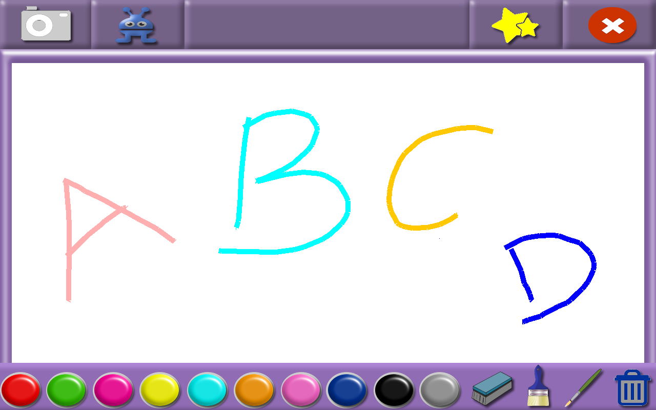 Kids Whiteboard Free- screenshot