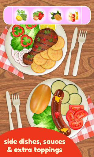 BBQ Grill Maker - Cooking Game  screenshots 4