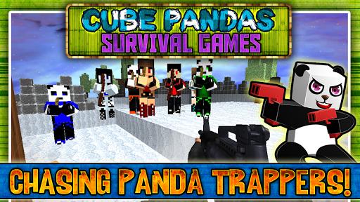 Cube Pandas Survival Games