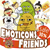 Emoticons friends
