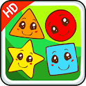 Shapes for kids game