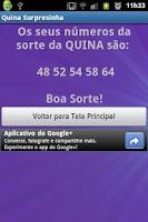 Screenshot of Surpresinha da Quina