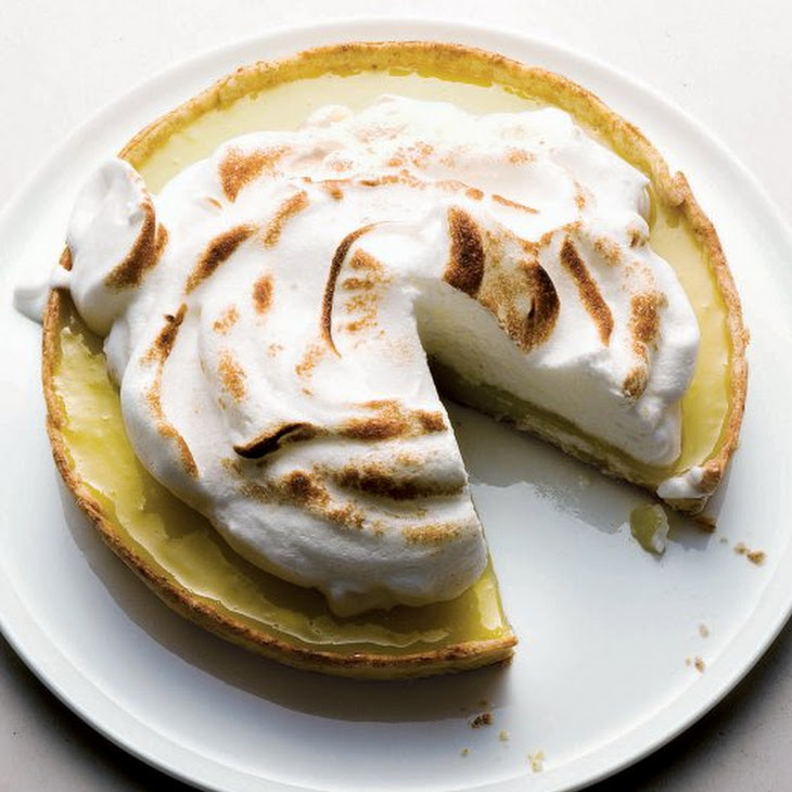 Lighter Lemon Meringue Pie Recipe