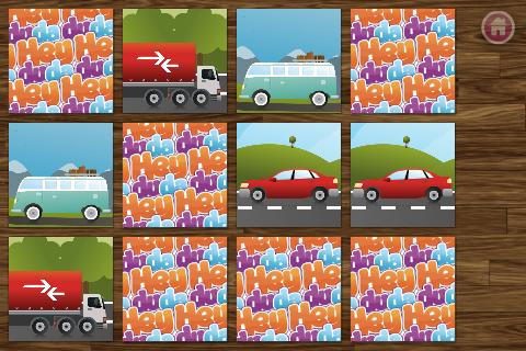 Car Memo Match for Kids FREE- screenshot