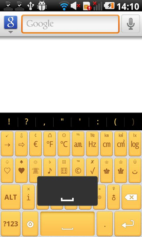 Mello Pro - HD Keyboard Theme - screenshot