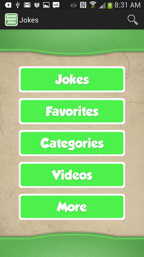Jokes - screenshot
