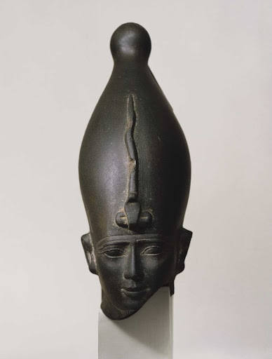 Head of a King Wearing Crown
