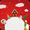 Whirl Christmas Snowflake FREE icon