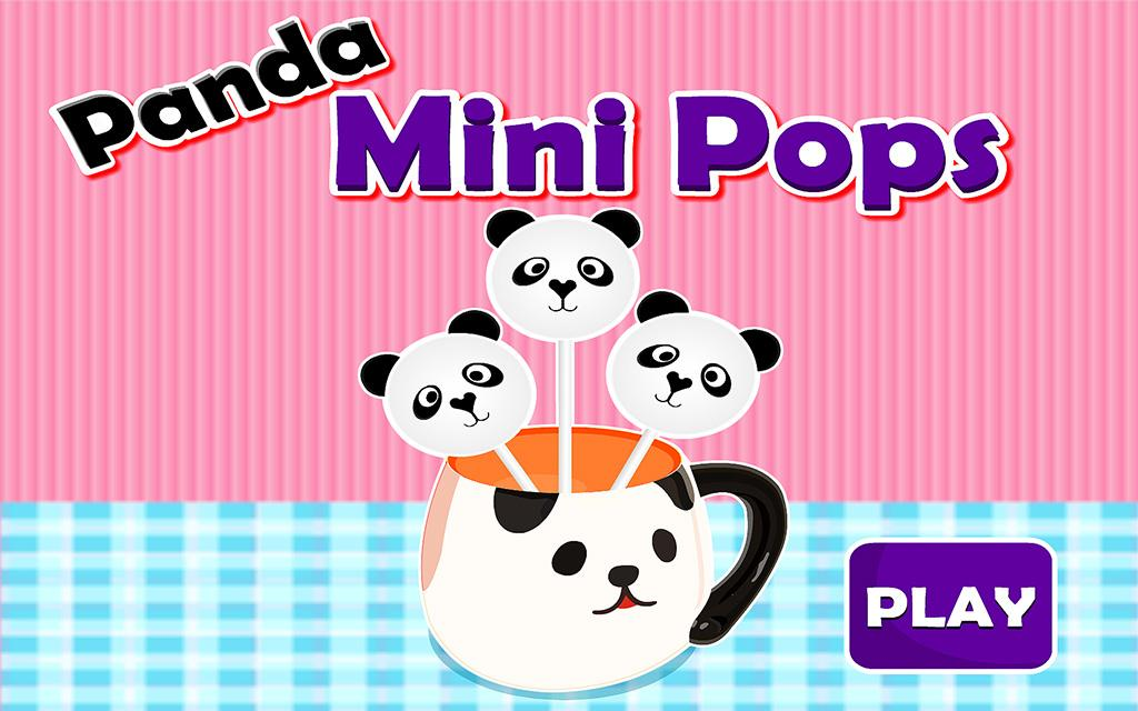 Panda Mini Pops Cooking- screenshot
