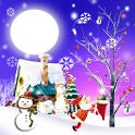 White Christmas Live Wallpaper icon