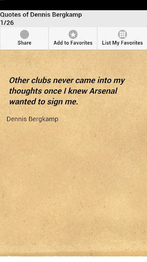 Quotes of Dennis Bergkamp