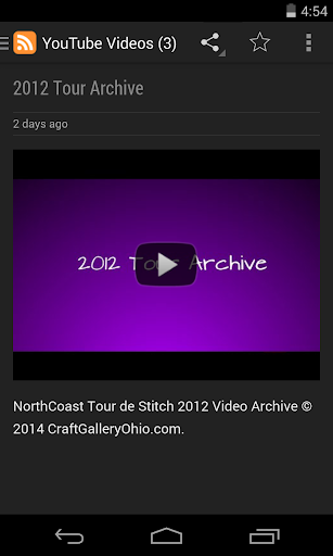 NorthCoast Tour de Stitch 2014|玩旅遊App免費|玩APPs
