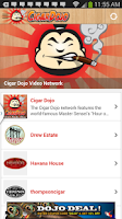 Screenshot of CigarDojo the social cigar app