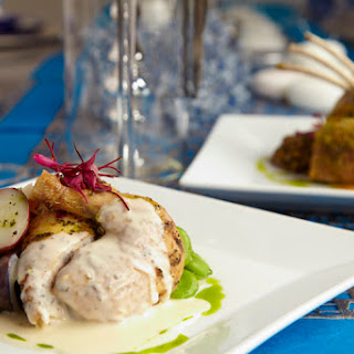 Cornish Hen with Velouté Sauce