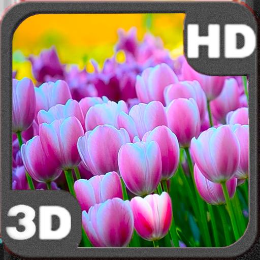 个人化のSpringtime Tulips Carpet Bloom LOGO-記事Game