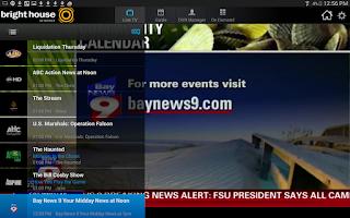 Screenshot of Bright House TV