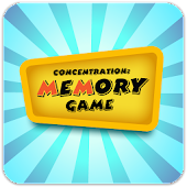 Concentration Game for Kids
