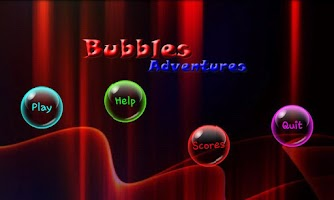 Screenshot of Bubbles Adventures Game