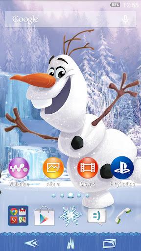 XPERIA™ Frozen Olaf Theme