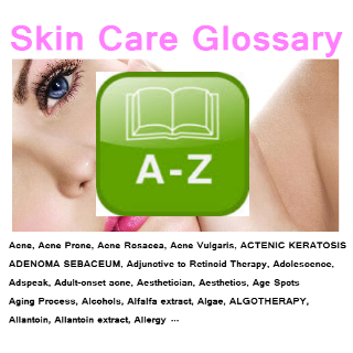 Skin Care Glossary