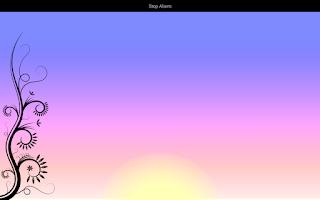 Screenshot of Electric Dawn - Alarm Clock