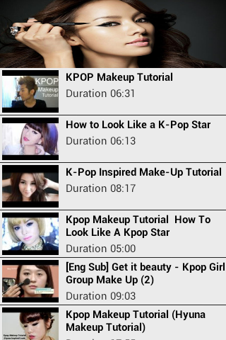 K-pop Makeup Tutorials