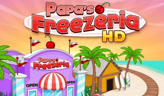 Papa's Freezeria HD- screenshot thumbnail