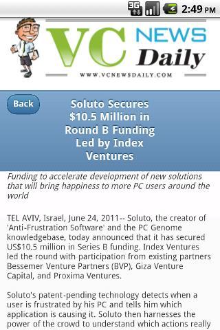 VC News Daily- screenshot