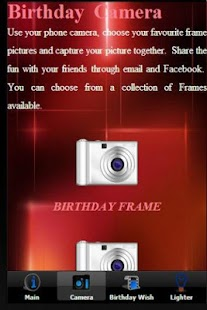 Birthday Frames Camera 生日相机