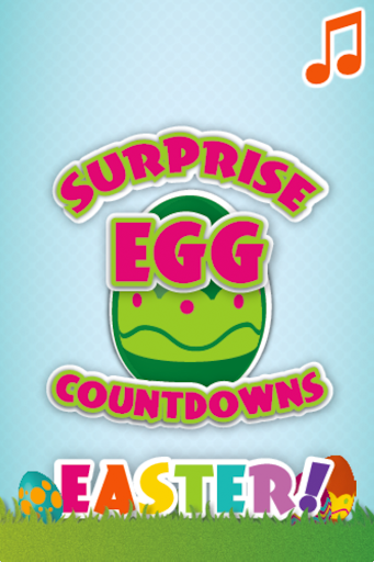Surprise Egg Countdown Easter