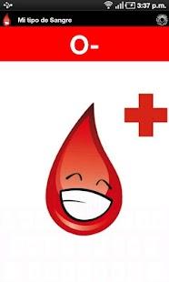 Mi tipo de Sangre