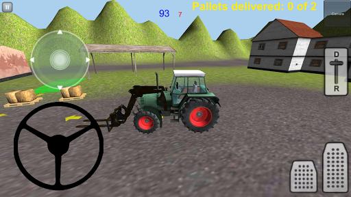 拖拉机装载模拟器