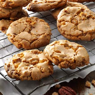 Butterscotch Toffee Cookies
