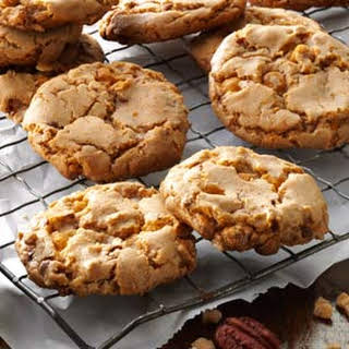 Butterscotch Toffee Cookies.