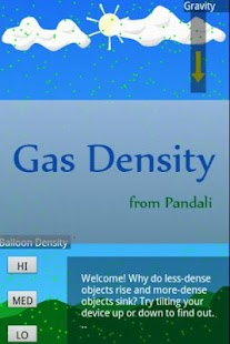 Gas Density Simulator- screenshot thumbnail