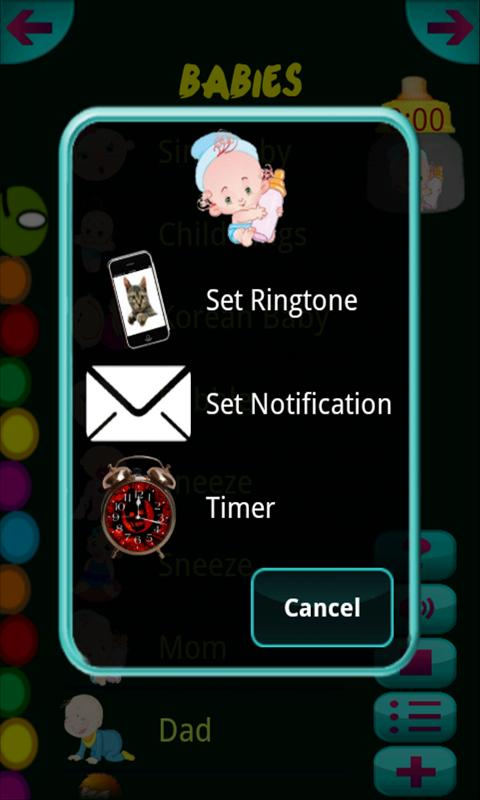 Baby Sounds & Ringtones- screenshot