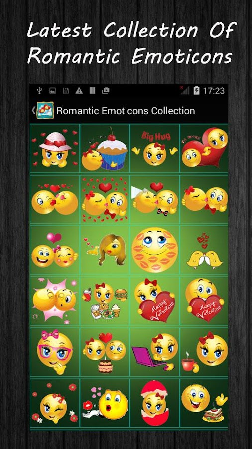 how to make emoticons on android
