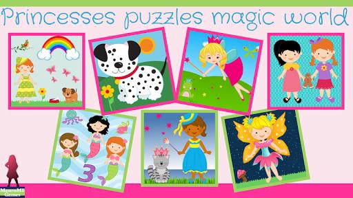 공주 퍼즐 마법의 세계