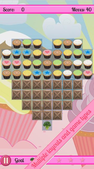Cupcake Cascade - screenshot