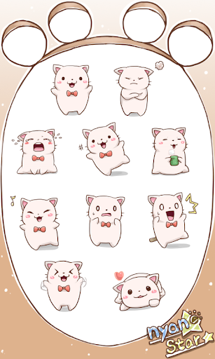 Nyan Star1 Emoticons new
