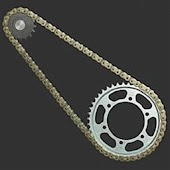 Gear ratio motorcycle